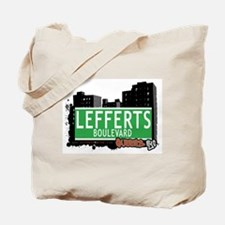 LEFFERTS BOULEVARD, QUEENS, NYC Tote Bag
