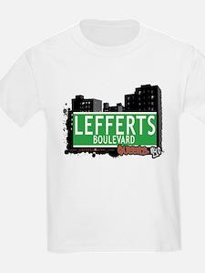 LEFFERTS BOULEVARD, QUEENS, NYC T-Shirt