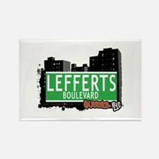 LEFFERTS BOULEVARD, QUEENS, NYC Rectangle Magnet