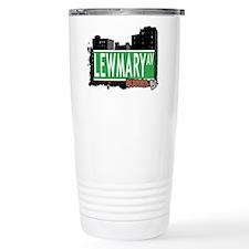 LEWMARY AVENUE, QUEENS, NYC Travel Mug