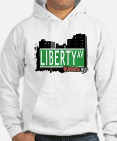 LIBERTY AVENUE, QUEENS, NYC Hoodie