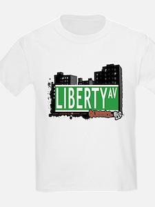 LIBERTY AVENUE, QUEENS, NYC T-Shirt