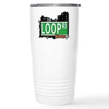 LOOP ROAD, QUEENS, NYC Travel Mug
