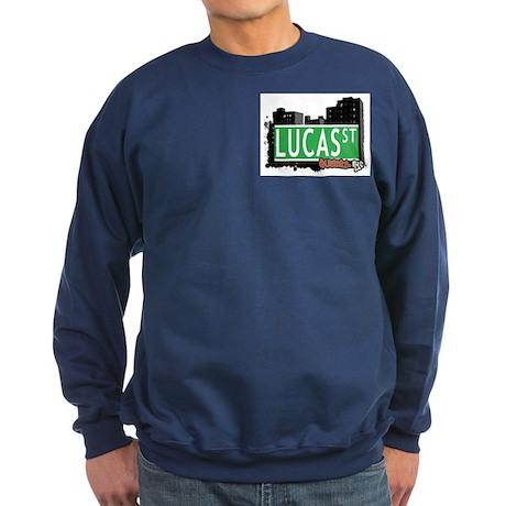 LUCAS STREET, QUEENS, NYC Sweatshirt (dark)
