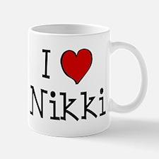 I love Nikki Mug