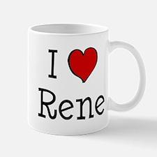 I love Rene Mug