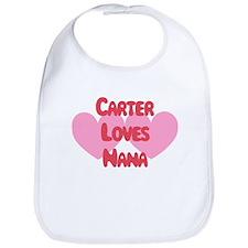 Carter Loves Nana Bib
