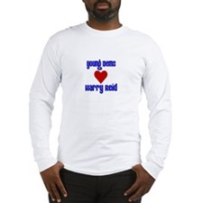 Young Dems Love Harry Reid! Long Sleeve T-Shirt