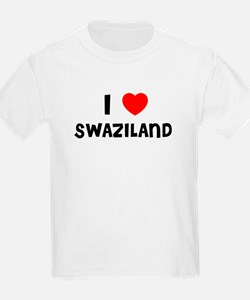 I LOVE SWAZILAND Kids T-Shirt