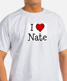 I love Nate T-Shirt