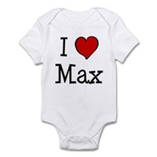 I love Max Infant Bodysuit