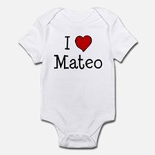 I love Mateo Infant Bodysuit