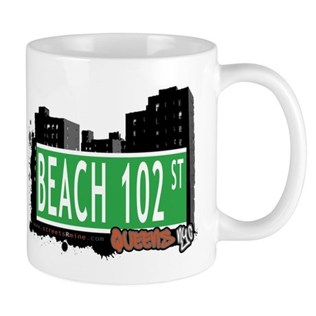 BEACH 102 STREET, QUEENS, NYC Mug