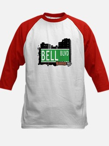 BELL BOULEVARD, QUEENS, NYC Kids Baseball Jersey