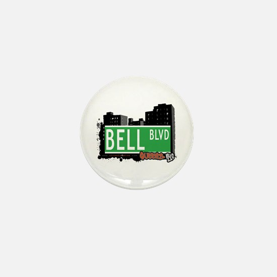 BELL BOULEVARD, QUEENS, NYC Mini Button