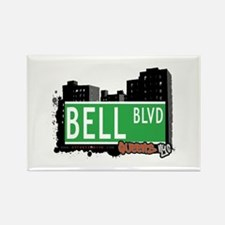 BELL BOULEVARD, QUEENS, NYC Rectangle Magnet