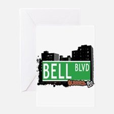 BELL BOULEVARD, QUEENS, NYC Greeting Card