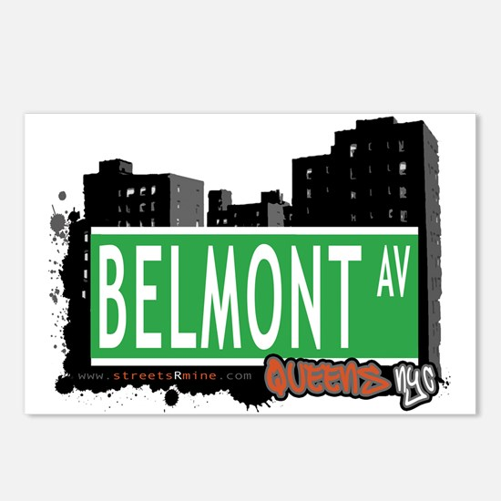 BELMONT AVENUE, QUEENS, NYC Postcards (Package of