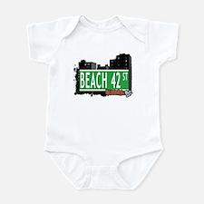 BEACH 42 STREET, QUEENS, NYC Infant Bodysuit