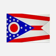 Beloved Ohio Flag Modern Styl Rectangle Magnet