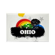 Sweet Fruity Ohio Rectangle Magnet