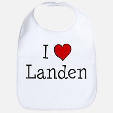 I love Landen Bib