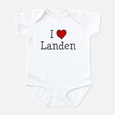 I love Landen Infant Bodysuit