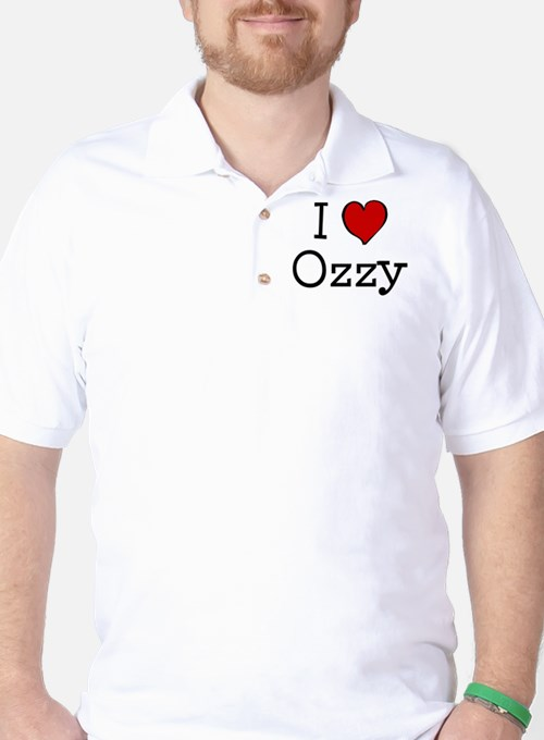 I love Ozzy Golf Shirt