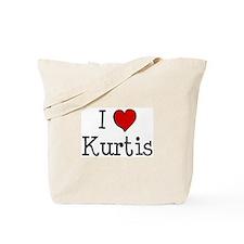 I love Kurtis Tote Bag