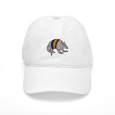 Texas Rainbow Armadillo Baseball Cap