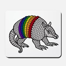 Texas Rainbow Armadillo Mousepad
