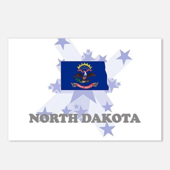 All Star North Dakota Postcards (Package of 8)