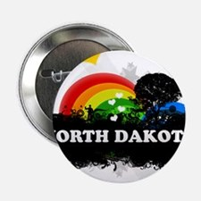 "Sweet Fruity North Dakota 2.25"" Button"
