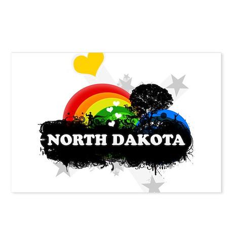 Sweet Fruity North Dakota Postcards (Package of 8)