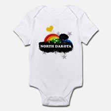 Sweet Fruity North Dakota Infant Bodysuit