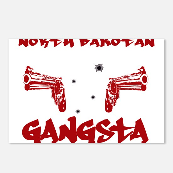 North Dakotan Gangsta Postcards (Package of 8)