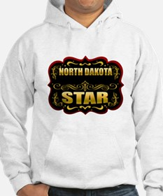 North Dakota Star Gold Badge Hoodie