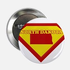 "Super Star North Dakota 2.25"" Button"