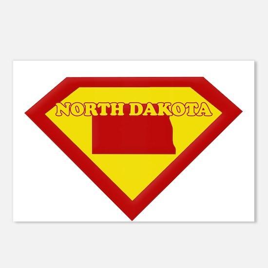 Super Star North Dakota Postcards (Package of 8)