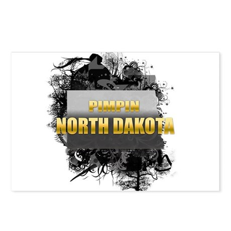 Pimpin' North Dakota Postcards (Package of 8)