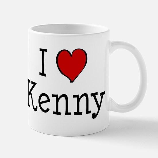I love Kenny Mug