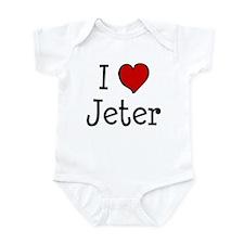 I love Jeter Infant Bodysuit