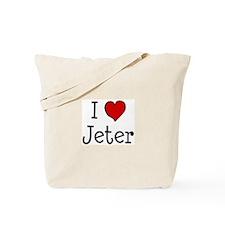 I love Jeter Tote Bag