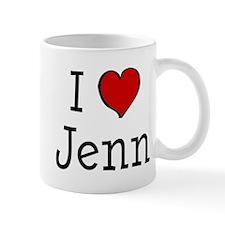 I love Jenn Mug