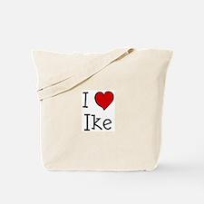 I love Ike Tote Bag
