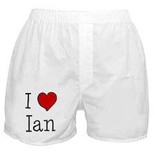 I love Ian Boxer Shorts