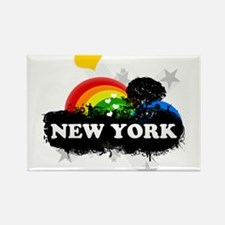 Sweet Fruity New York Rectangle Magnet (10 pack)