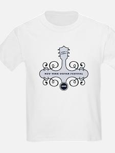 New York Guitar Festival Kids T-Shirt