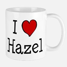 I love Hazel Small Small Mug
