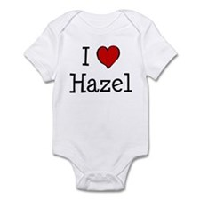 I love Hazel Infant Bodysuit